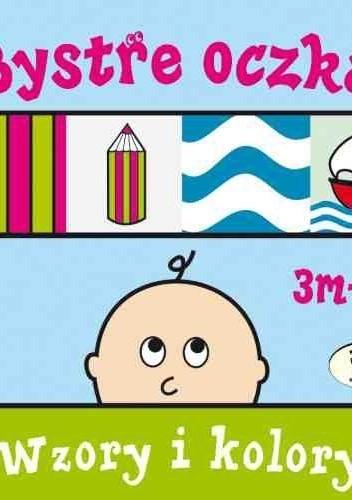 Okładka książki Bystre oczka. Wzory i kolory
