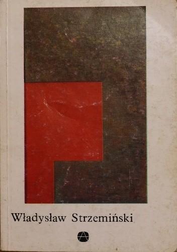 Okładka książki Władysław Strzemiński