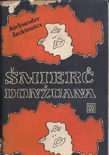 Okładka książki Śmierć donżuana