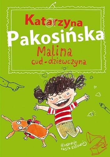 Okładka książki Malina cud-dziewczyna