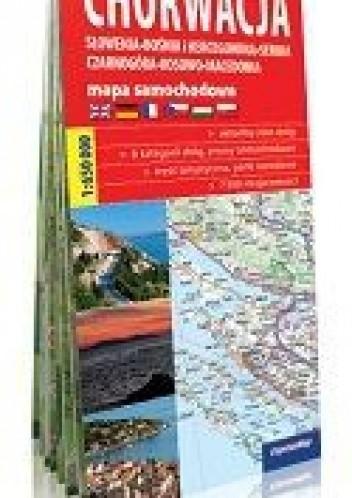 Okładka książki Mapa samochodowa 1:650 000