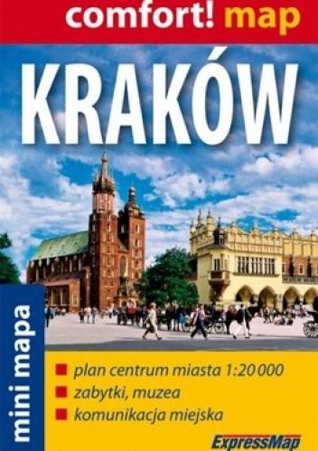 Okładka książki Kraków. Plan miasta mini. 1:20 000 ExpressMap