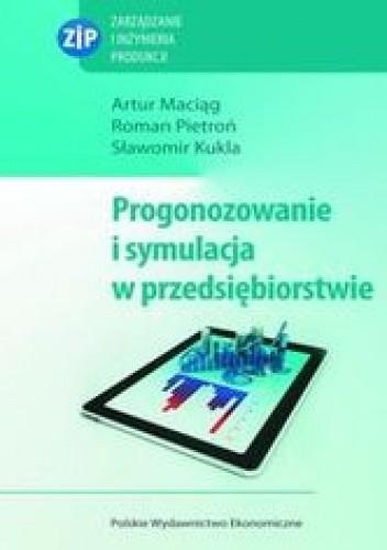 Okładka książki Prognozowanie i symulacja w przedsiębiorstwie z płytą CD