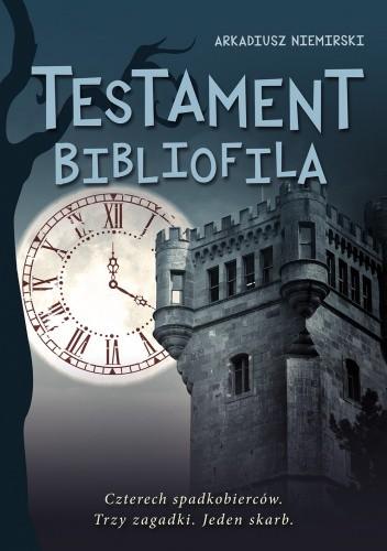Okładka książki Testament bibliofila