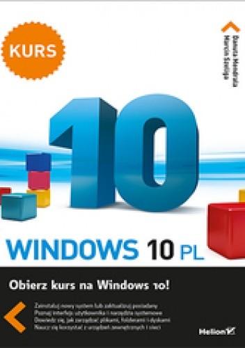 Okładka książki Windows 10 PL. Kurs