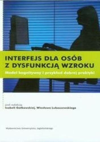 Okładka książki Interfejs dla osób z dysfunkcją wzroku