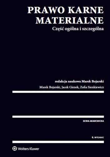 Okładka książki Prawo karne materialne