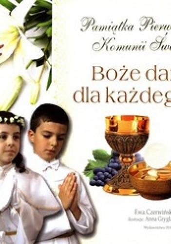 Okładka książki Boże dary dla każdego. Pamiątka Pierwszej Komunii Świętej