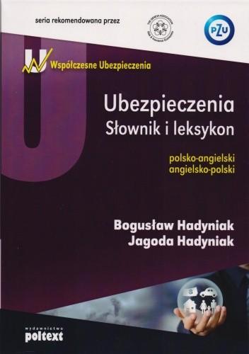 Okładka książki Ubezpieczenia. Słownik i leksykon
