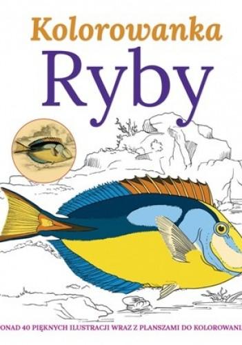 Okładka książki Ryby. Kolorowanka