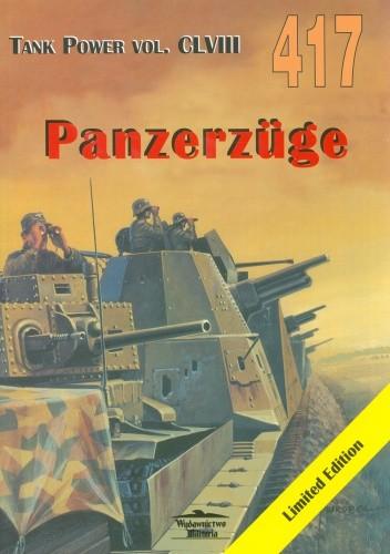 Okładka książki Panzerzuge. Tank Power vol. CLVIII 417