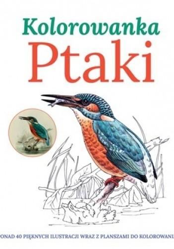 Okładka książki Ptaki. Kolorowanka