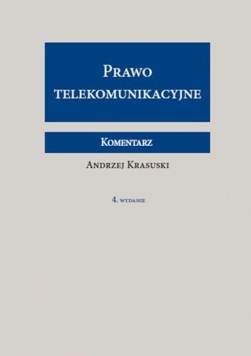Okładka książki Prawo telekomunikacyjne. Komentarz