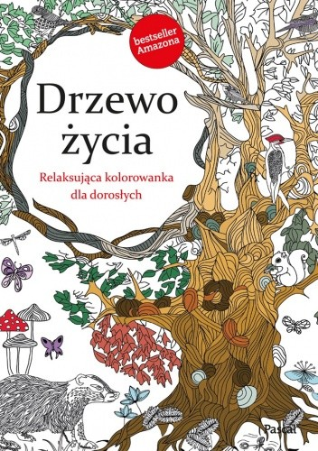 Okładka książki Drzewo życia. Relaksująca kolorowanka dla dorosłych
