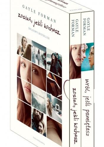 Okładka książki Zostań, jeśli kochasz + Wróć, jeśli pamiętasz (komplet)