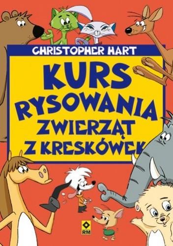 Okładka książki Kurs rysowania zwierząt z kreskówek