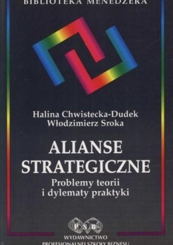 Okładka książki Alianse strategiczne