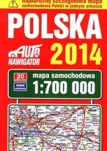 Okładka książki Polska. Mapa samochodowa 1:700 000. Kompas