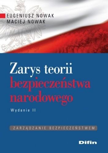 Okładka książki Zarys teorii bezpieczeństwa narodowego