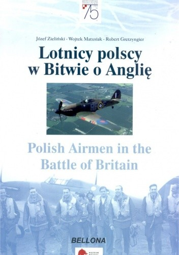 Okładka książki Lotnicy polscy w Bitwie o Anglię