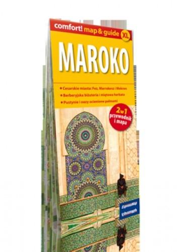 Okładka książki Maroko 2w1: przewodnik i mapa. 1:1 500 000. ExpressMap