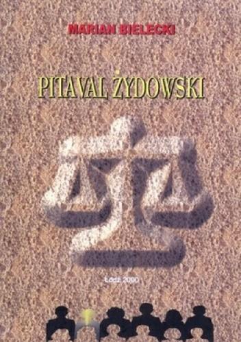 Okładka książki Pitaval żydowski