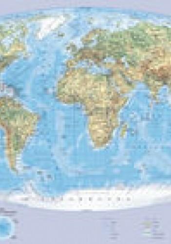 Okładka książki Świat mapa ścienna podręczna