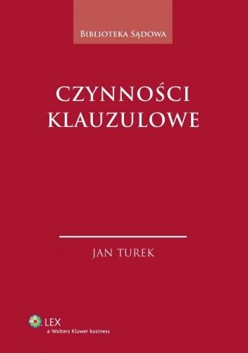 Okładka książki Czynności klauzulowe