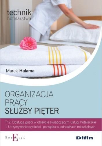 Okładka książki Organizacja pracy służby pięter T.12.1