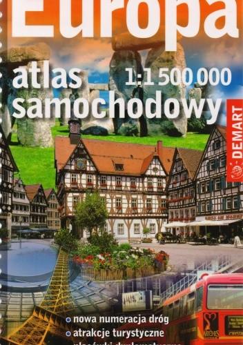 Okładka książki Europa. Atlas samochodowy. 1:1 500 000
