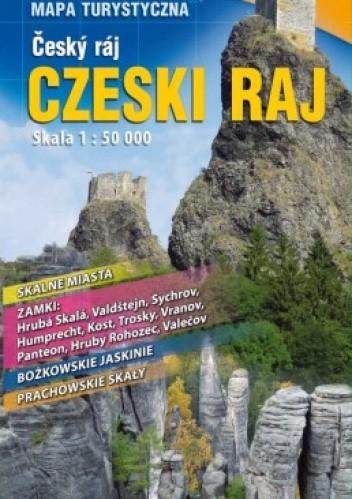 Okładka książki Czeski Raj. Mapa turystyczna. 1:50 000 Plan Studio
