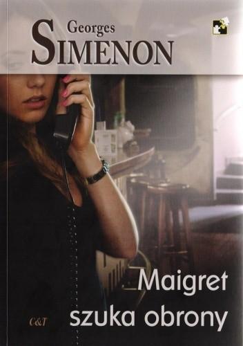 Okładka książki Maigret szuka obrony