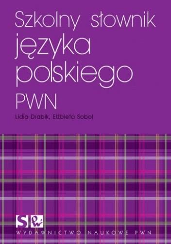 Okładka książki Słownik języka polskiego PWN