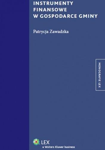 Okładka książki Instrumenty finansowe w gospodarce gminy