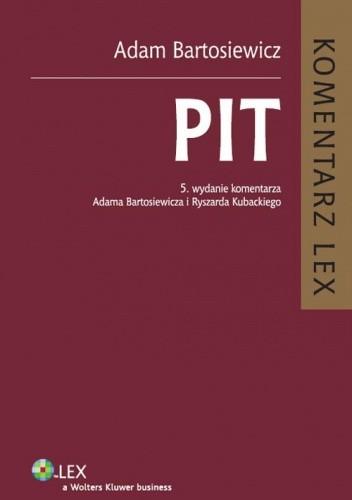 Okładka książki PIT. Komentarz