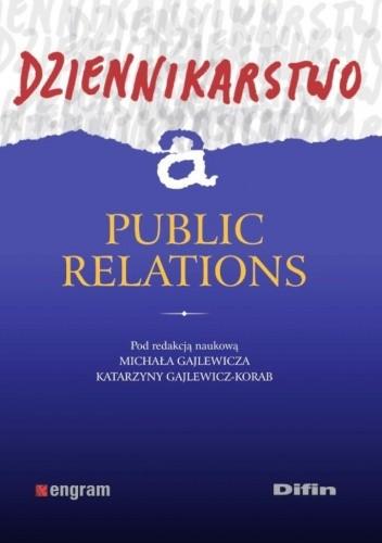 Okładka książki Dziennikarstwo a public relations