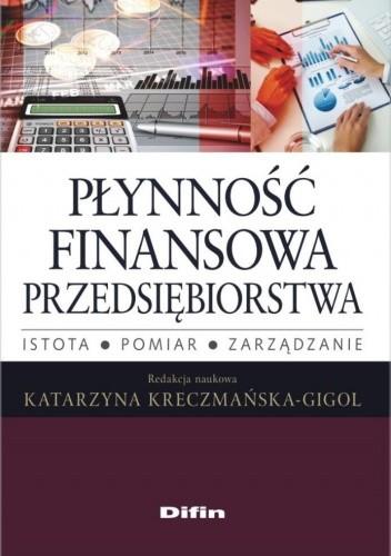 Okładka książki Płynność finansowa przedsiębiorstwa