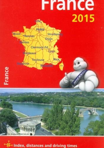 Okładka książki France. Motoring and tourist map. 1: 1 000 000. Michelin
