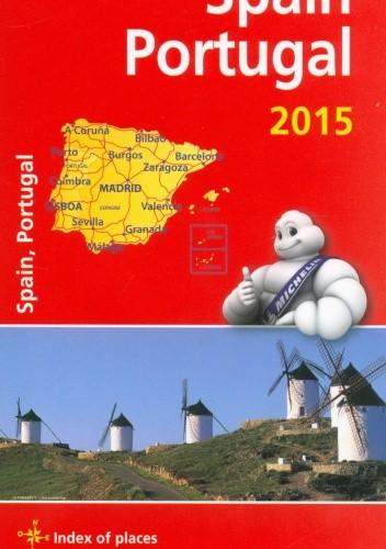Okładka książki Spain Portugal. Motoring and tourist map. 1: 1000 000 Michelin