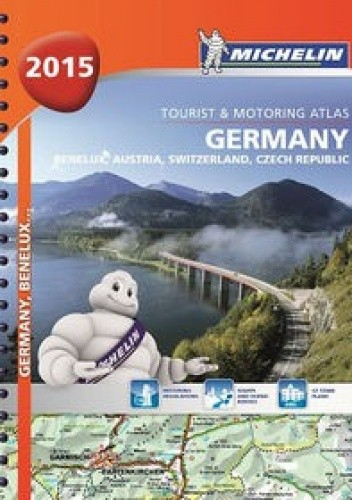 Okładka książki Germany 2015. Tourist & Motoring Atlas