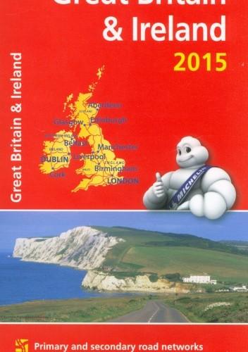 Okładka książki Great Britain & Ireland. Motoring and tourist map. 1: 1000 000. Michelin
