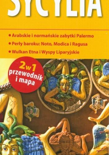 Okładka książki Sycylia. Przewodnik i mapa. 1:450 000. ExpressMap
