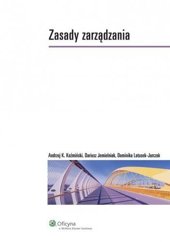 Okładka książki Zasady zarządzania