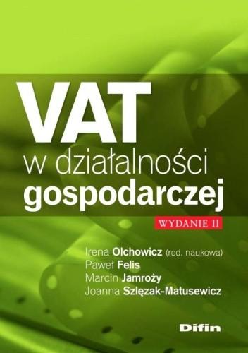 Okładka książki VAT w działalności gospodarczej. Wydanie 2