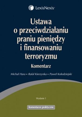 Okładka książki Ustawa o przeciwdziałaniu praniu pieniędzy i finansowaniu terroryzmu