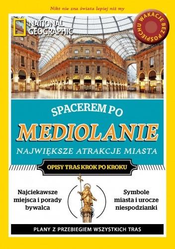 Okładka książki Spacerem po Mediolanie. Największe atrakcje miasta