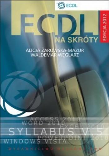 Okładka książki ECDL na skróty + CD