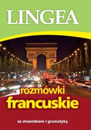 Okładka książki Rozmówki francuskie ze słownikiem i gramatyką