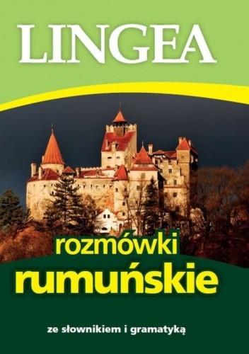 Okładka książki Rozmówki rumuńskie ze słownikiem i gramatyką