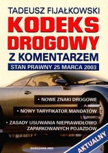 Okładka książki Kodeks Drogowy z komentarzem